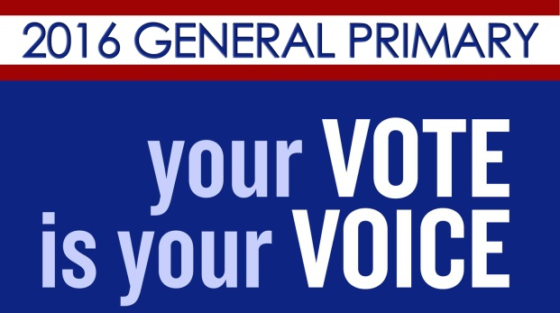 General Primary 2016 Banner