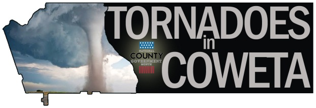 Tornadoes in Coweta graphic
