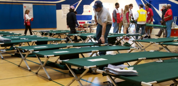 Red Cross Shelter Drill