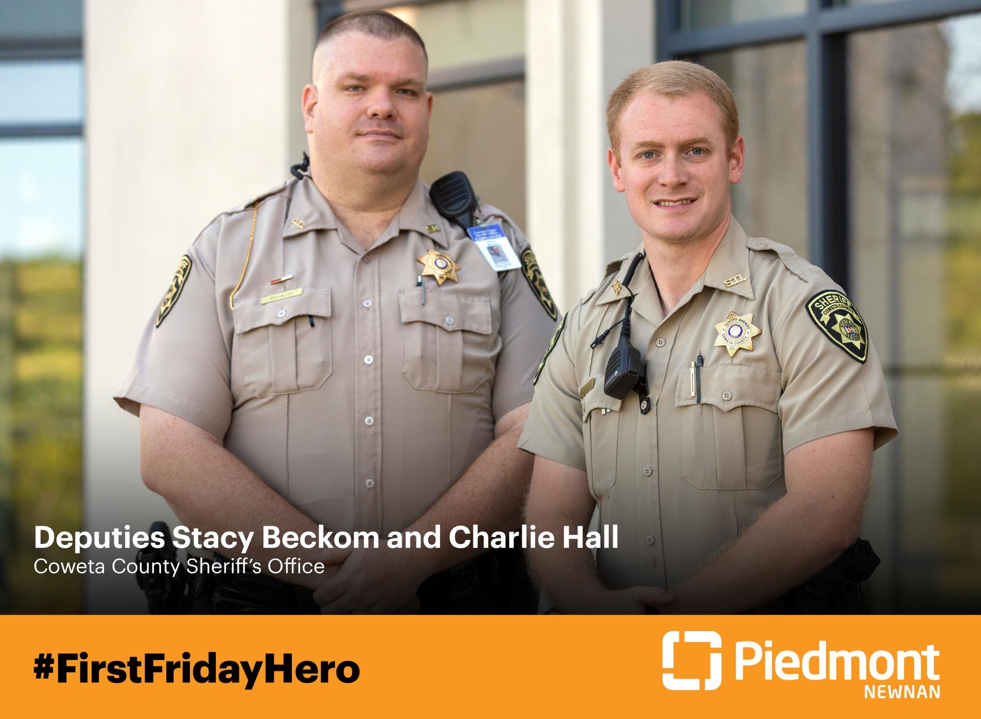 DEPUTIES HONORED AS FIRST FRIDAY HEROES