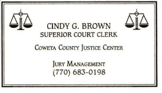 Jury Management Card